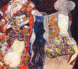 Gustav Klimt, the Bride 1917-1918